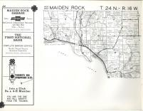 Maiden Rock T24N-R16W, Pierce County 1960